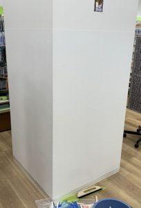 店内壁紙補修工事